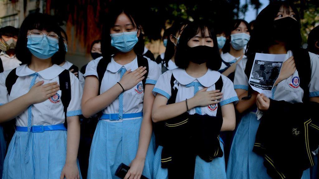 Kasus Corona Melonjak, Hong Kong Tutup Sekolah-sekolah