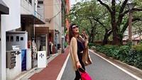 Dalam akun Instagram-nya, Luna Maya membagikan momen liburannya di Jepang. (Foto: lunamaya/Instagram)