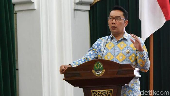 Gubernur Jabar Ridwan Kamil/Foto: baban/detikcom