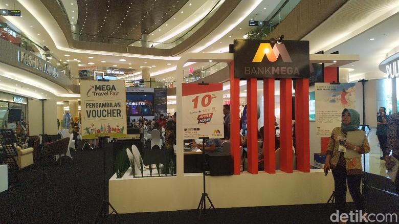 Bank Mega Gelar Mega Travel Fair Periode Kedua di Surabaya. (Foto: Titania Dewanti/detikcom)