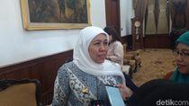 Gubernur Khofifah Sebut Sudah Sampaikan Aspirasi Buruh ke MA