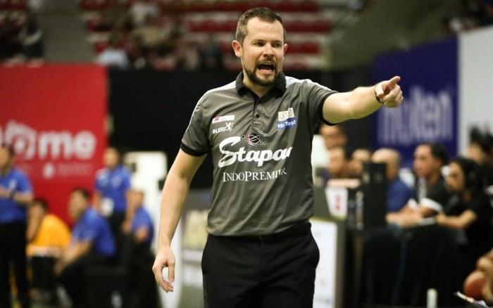 Giedrius Zibenas, pelatih Stapac Jakarta