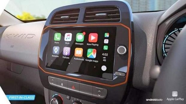 Renault Kwid terbaru di India