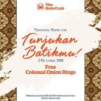 Ayo Pakai Batik! Ada Diskon Makanan Menarik di Hari Batik Nasional