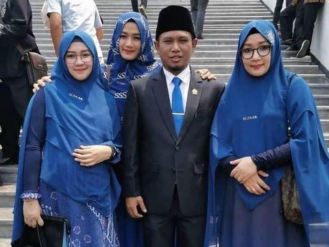 Lora Fadil Bawa 3 Istri Saat Pelantikan Anggota DPR, Ini Kata NasDem