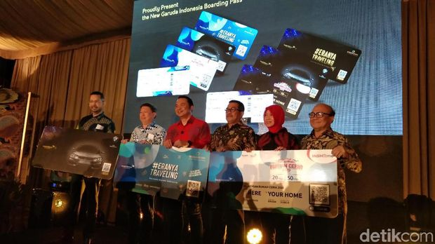 Garuda Indonesia Luncurkan Boarding Pass Bergaya Batik