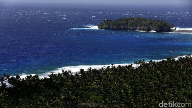 Pulau Miangas Foto: Muhammad Ridho