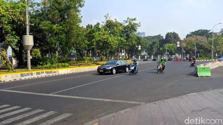 Ada Rencana Demo BEM SI, Lalin ke DPR dan Istana Berlaku Normal
