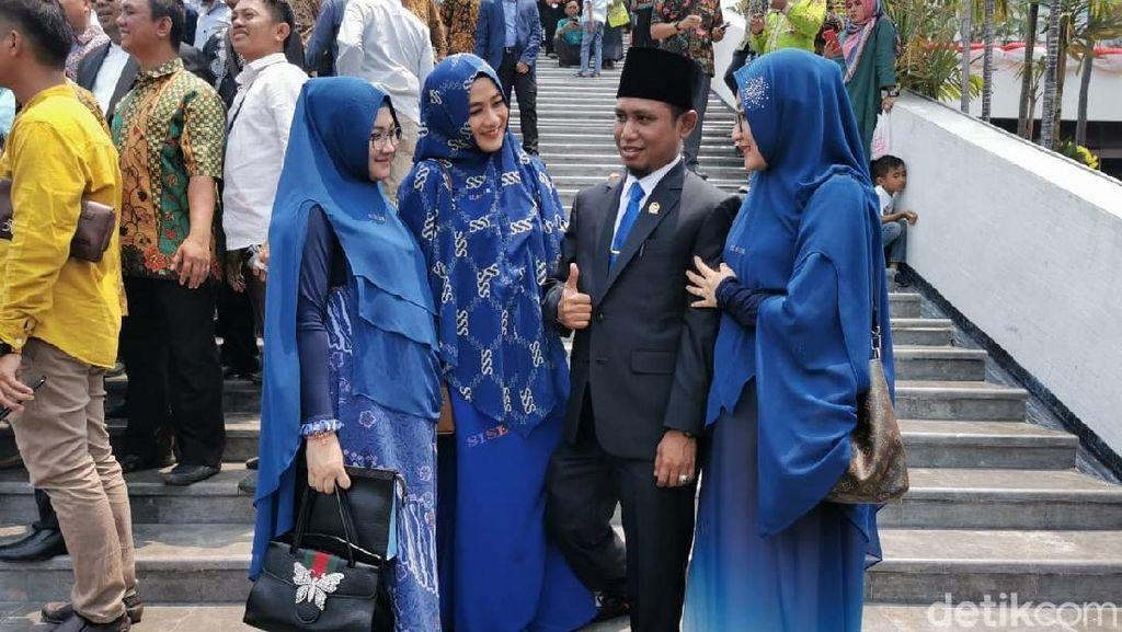 Lora Fadil Punya 3 Istri, Tunjangan dari DPR Hanya untuk Istri Pertama
