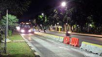 Massa Demo Bubar, Lalu Lintas di Jalan Medan Merdeka Kembali Dibuka