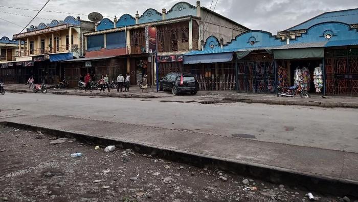 Situasi Wamena pasca rusuh (Foto: Saiman/detikcom)