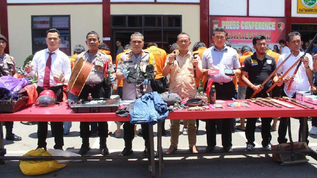 Polres Gowa Tetapkan 10 Tersangka Penyerangan Markas UIN Alauddin