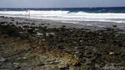 Ini Lho Lokasi Jokowi Cuci Muka di Pulau Miangas