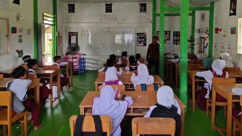 Pernah Dihempas Tsunami, Desa Ini Bangun Sekolah Lagi Pakai Dana Desa