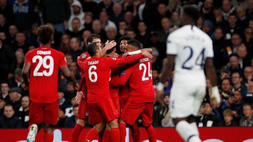 Tottenham Vs Bayern: Die Roten Remukkan Spurs 7-2