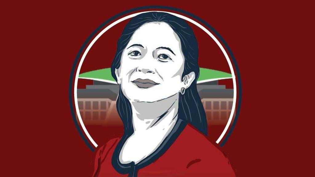 Puan Maharani, Jadi Wartawan hingga Main Film Naga Bonar