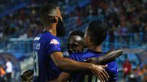 Arema FC Vs PSM: Singo Edan Menang 2-0
