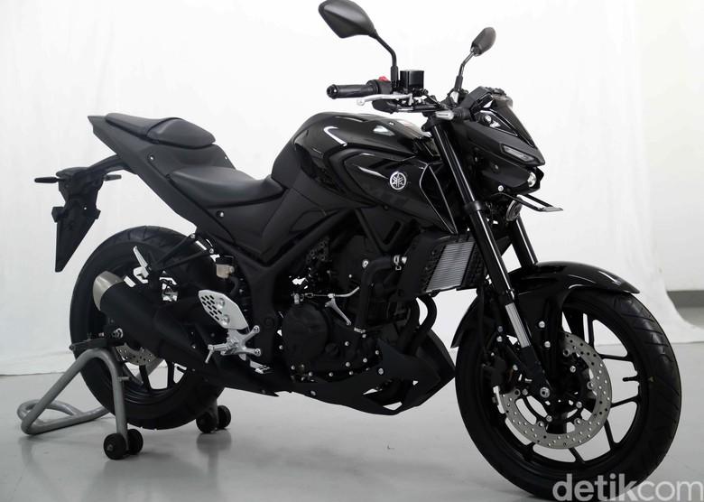 Yamaha MT-25 semakin macho. Foto: Pradita Utama