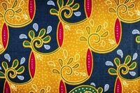 Batik modern corak Betawi.