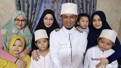 Ini Pertanyaan Menggelitik Anak-Anak Lora Fadil yang Poligami 3 Istri
