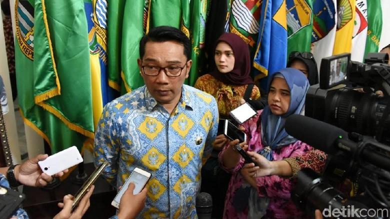 Gubernur Jabar Ridwan Kamil. (Foto: Baban/detikcom)