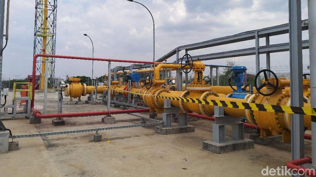 RI Setop Kirim Gas ke Singapura Mulai 2023