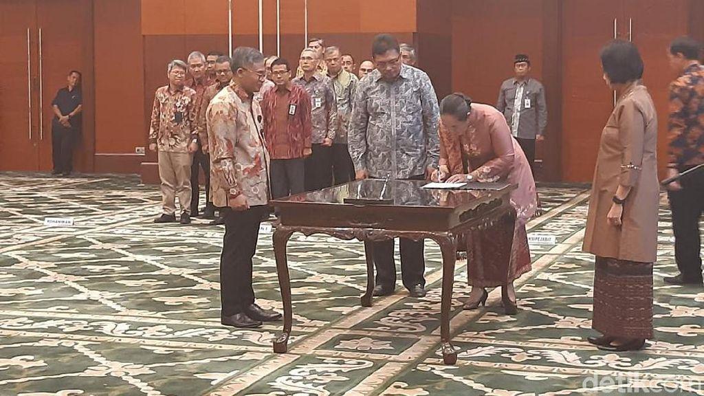 Pesan Sri Mulyani Buat Pejabat Kemenkeu yang Baru Dilantik