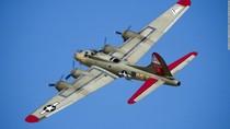 Penampakan Pesawat Pengebom Era Perang Dunia II yang Jatuh di AS