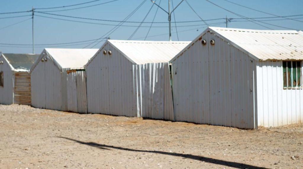 Penampakan Rumah-rumah Pengungsi Suriah di Yordania