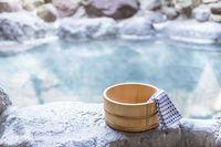 Ilustrasi onsen (Foto: iStock)