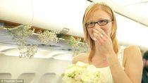 Kisah-kisah Romantis Pasangan Menikah di Pesawat