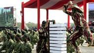 Saat Prajurit TNI Unjuk Kekuatan Lewat Aksi Bela Diri