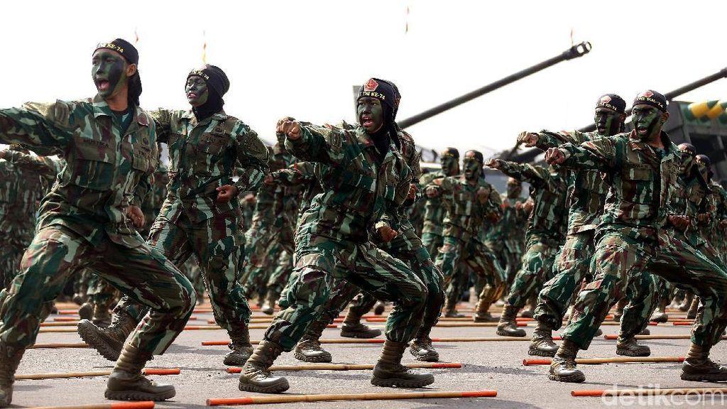 Mau Dinaikkan Jokowi 80%, Ini Daftar Tunjangan TNI Sekarang