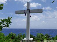 Tempat Keramat dan Benteng Pertahanan Leluhur Pulau Menangis