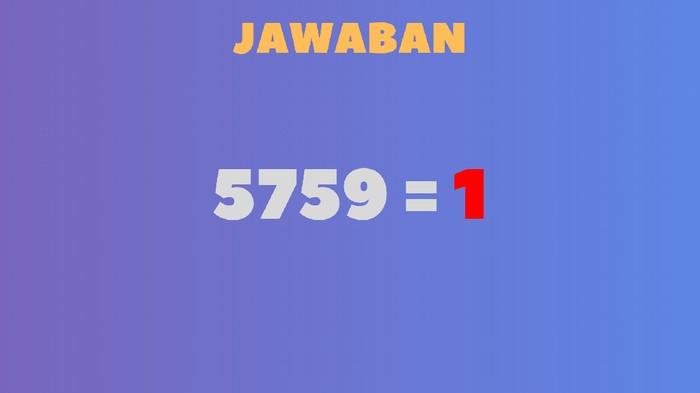 Angka-angka yang ganjil menghasilkan 1, sementara angka yang genap 0. (Foto: detikHealth)