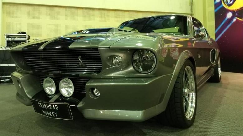 Ford Mustang modifikasi Foto: Luthfi Anshori/detikcom