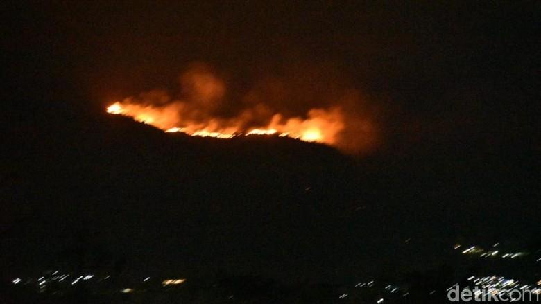 Kebakaran Hutan di Gunung Ringgit Belum Padam, Muncul 3 Titik Api Lagi