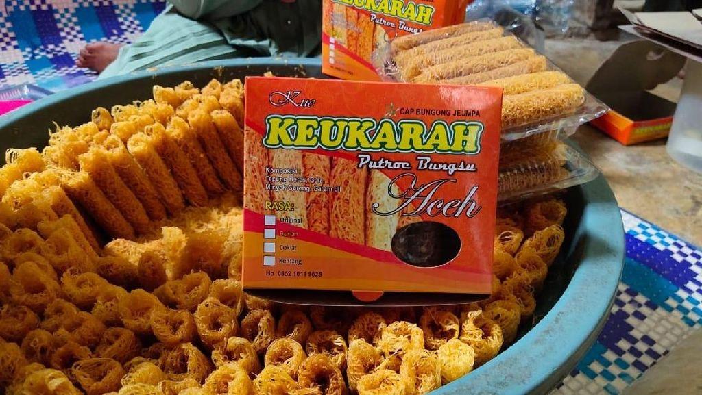 Kres! Garingnya Kue Sarang Burung Keukarah Aceh yang Bikin Nagih