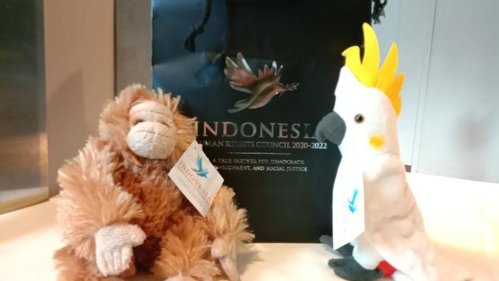 Boneka Souvenir PBB Ternyata Made in Indonesia, Ini Pembuatnya