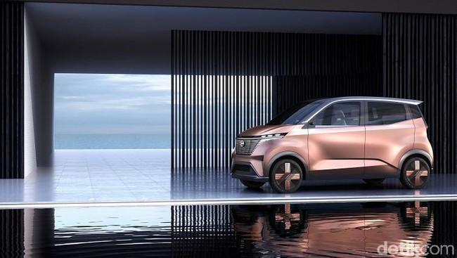 Nissan IMk, Mobil Listrik Perkotaan Baru dari Nissan