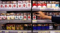 Cukai Baru Naik, Harga Rokok Sudah Meroket dari Bulan Lalu