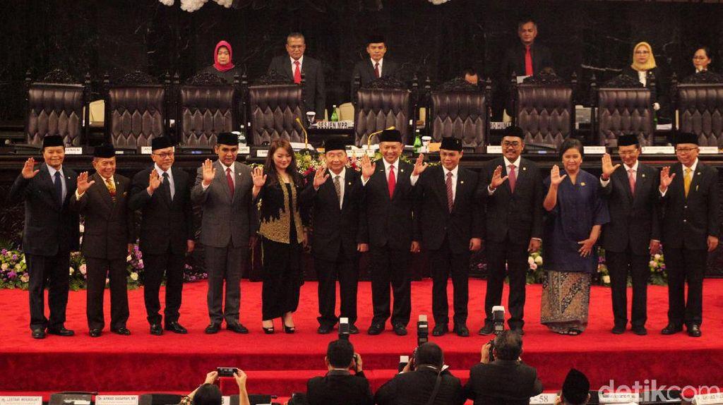 Jumlah Pimpinan Bertambah, MPR Belum Ajukan Tambahan Anggaran