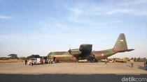 TNI AU Siapkan 3 Pesawat WNI dari Wuhan Usai Transit di Batam ke Natuna