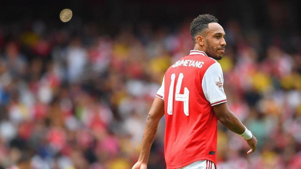 Aubameyang Harapan Arsenal Akhiri Puasa Kemenangan Tandang