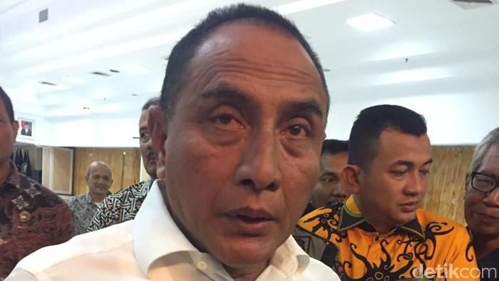 Gubernur Sumut Edy Rahmayadi  (Khairul-detik)