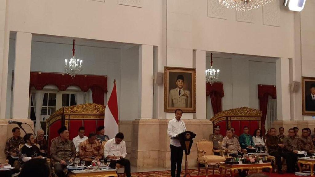 Jokowi ke Menteri: Kita Telah Letakkan Fondasi Indonesiasentris