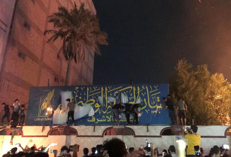 Aksi Demo Berdarah di Irak Terus Berlanjut, 65 Orang Tewas dan 190 Luka