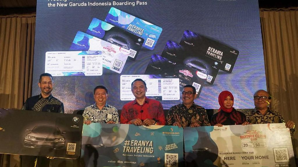 Garuda Indonesia Luncurkan Boarding Pass Baru