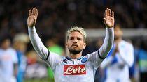 Juventus dan Milan Diklaim Ikut Buru Dries Mertens