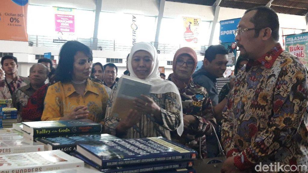 Big Bad Wolf di Surabaya, Ini Harapan Gubernur Khofifah